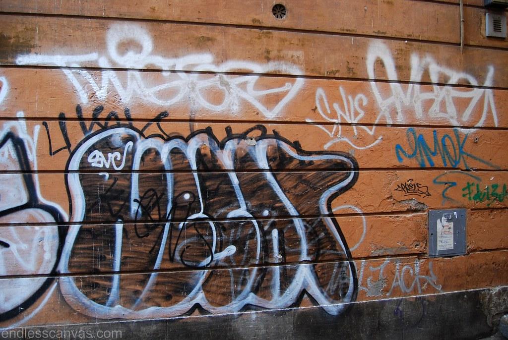 Twister Amaze Nesar Graffiti Rome Italy.