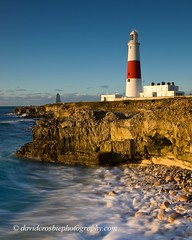 Portland Bill Lighthouse, Dorset (David Crosbie) Tags: sunrise portland rocks lighthouses waves dorset portlandbill superaplus aplusphoto uklandmarks