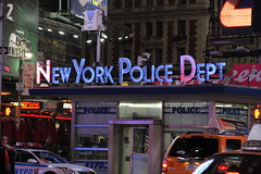 "New York Police Dept  ""Times Square"""