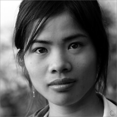 Phoenix (NaPix -- (Time out)) Tags: china portrait blackandwhite bw woman phoenix beauty face look sunrise asia southeastasia mood earlymorning vietnam illusion magical classy yuanyang enchanting 500x500 napix visionquality beyongwords