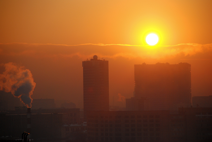 Moscow sunset 2007