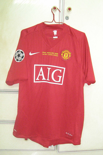 Manchester United 2007/2008 UCL Final Home S/S