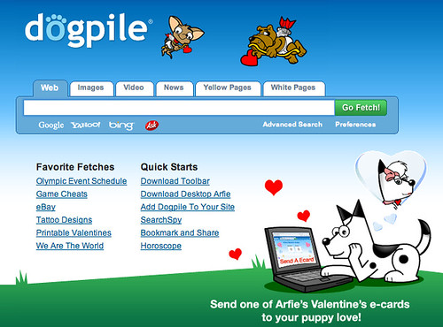Valentines Day at DogPile