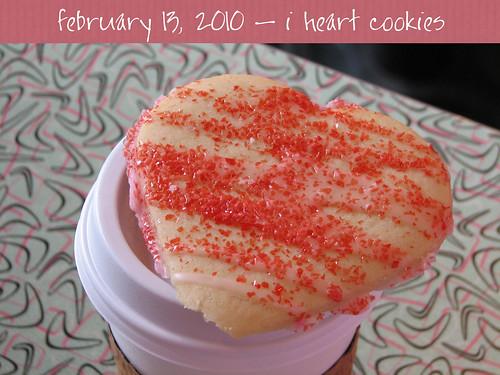 i heart cookies