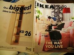 IKEA catalogue 2009 (Mink) Tags: ikea way you furniture live cover kuwait catalogue 2009 furnishings kuwaiti