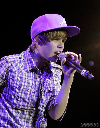 Justin Bieber at the Palladium