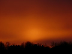 fire in the sky (suesviews) Tags: sunset delight monday hazy unedited shepherds naturessilhouettes 150210