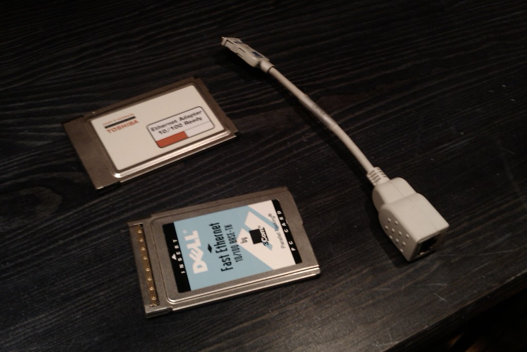 Karty sieciowe PCMCIA