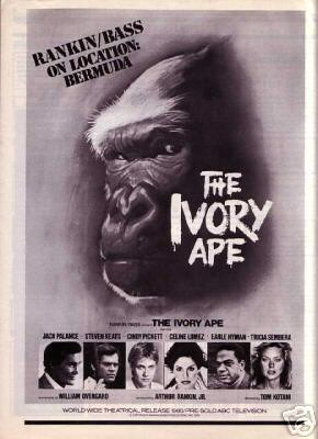 THE IVORY APE (1980) Print Ad