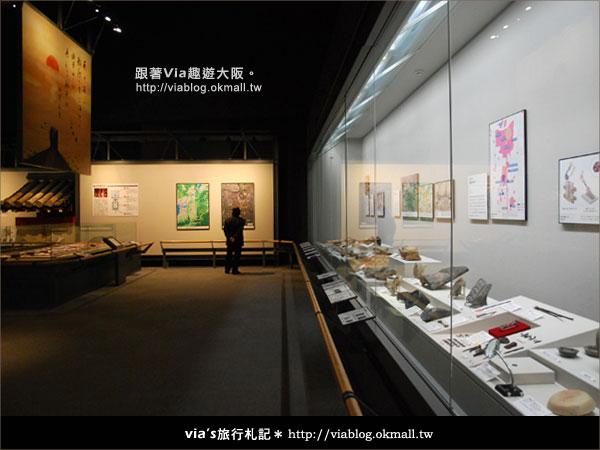 【via關西冬遊記】大阪歷史博物館~探索大阪古城歷史風情9