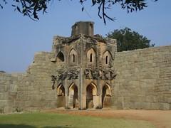 602. Hampi (20): Watch Tower (profmpc) Tags: fortress hampi watchtower vijayangara krishnadevarayar