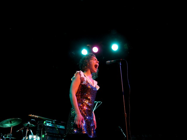 Genevieve Schatz singing Even in the Dark (acoustic)