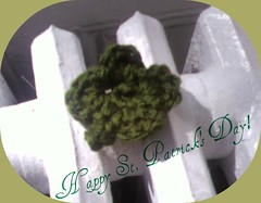 Crochet Shamrocks- 001a