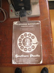 Southern Pacific telephone directory.