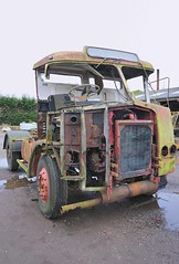 Atkinson for spares (bobbrooky) Tags: tractor truck lorry restoration spares atkinson beyondrepair