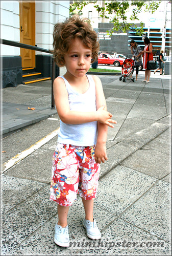 ASHER. MiniHipster.com: children's childrens clothing trends, kids street fashion, kidswear lookbook