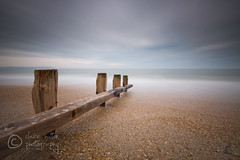 (Claire Hutton) Tags: wood longexposure sea mist motion colour beach water misty clouds coast movement pebbles coastal posts groyne ndfilter 10stop nd1000 nd110 bw110 leefilters 09ndgradhe