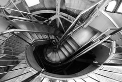 Statue of Liberty Stairs (agao) Tags: stairs winding statueofliberty
