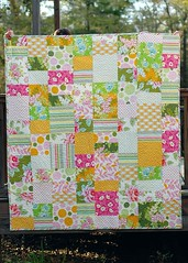 Nicey Jane quilt (naturemomm) Tags: quilt jane patchwork nicey heatherbailey niceyjane