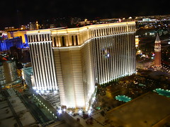 View of The Venetian Las Vegas from the Palazzo