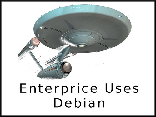 enterprise uses debian