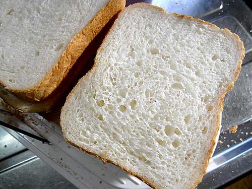 ホームベーカリーで2010年4月10日に作ったパン