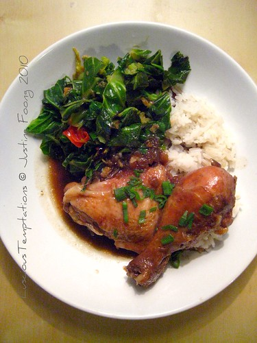 Braised Soy Chicken - Weeknight Dinner