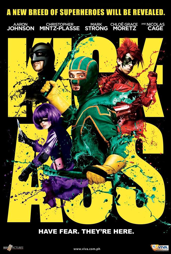 kick ass 27x40 poster