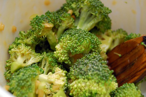 Broccoli Tossed With Reduction