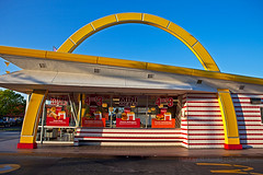 McDonald's preserved (ezeiza) Tags: california food sign restaurant golden fastfood sanjose fast arches mcdonalds drivethru almaden drivethrough goldenarches