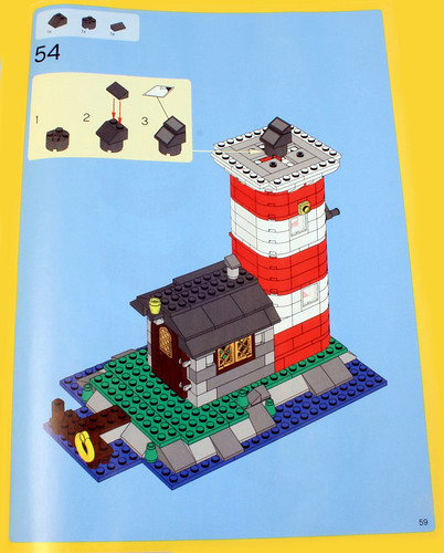 lego creator lighthouse instructions