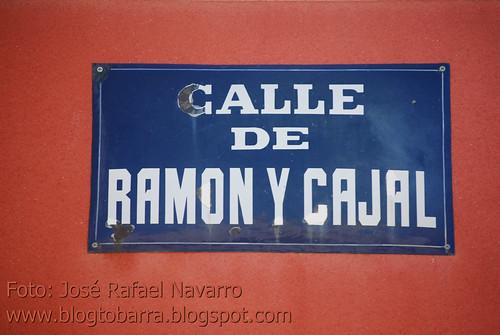 Placas - Calle Ramón y Cajal