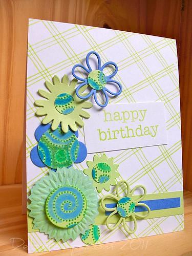 Birthday Beginning by debstamps