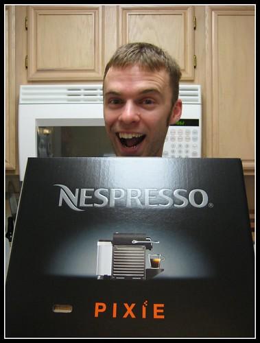 The Nespresso Pixie!