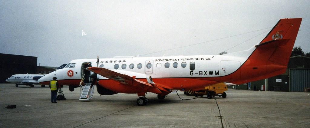 HKGFS J41 G-BXWM at Hurn