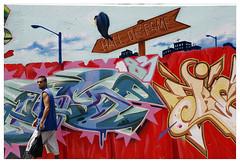 New York (Street art around the world) Tags: people usa streetart newyork color wall graffiti photo mural harlem streetphotography murals murales formyblog tats tatscru polillo robertopolillo peopleandstreetart