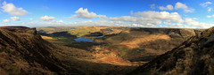 Wimberry Rocks and the Chew Valley (Craig Hannah) Tags: uk england panorama rock clouds landscape photography countryside peakdistrict yorkshire reservoir hills moors oldham greenfield pennine peakdistrictnationalpark moorland alderman dovestones saddleworth rspb chewvalley wimberry greatermanchester westriding dovestonesreservoir craighannah