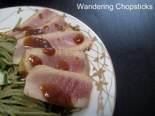 Seared Tuna with Hoisin Soy Sauce Glaze 2