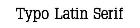 typo-latin-serif