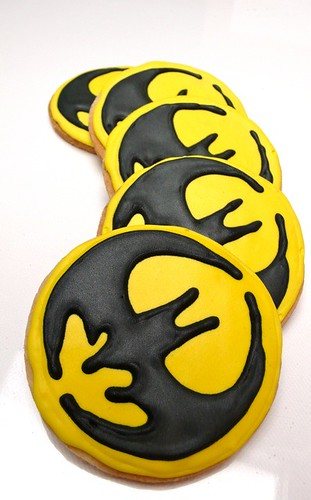 Shortbread Batman Cookie