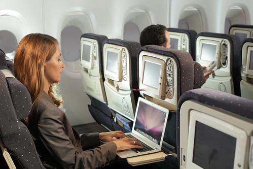 A bord de l'A380 Air France  (1)