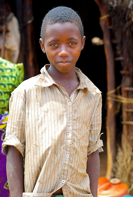 Boy in Buguta