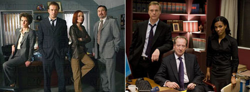 Paris enquêtes criminelles e Law and Order: UK