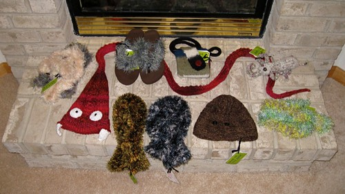 Craft fair stuff: Knits!