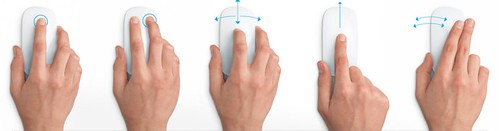 MagicMouse Touch Gestures