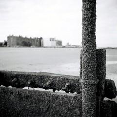 Portobello Beach (HP5man) Tags: edinburgh lubitel166b ilfordfp4 portobellobeach