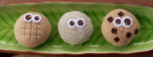 cookies trio.
