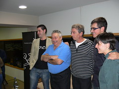 Cita amb David Seijas & Ferran Centelles: els sommeliers d'El Bulli amb Damià Espelt, Anna Espelt (enòloga) i Josep Maria Ortega