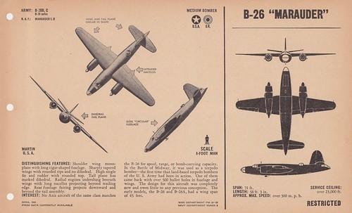 """Warbird picture - B-26 """"MARAUDER"""""""