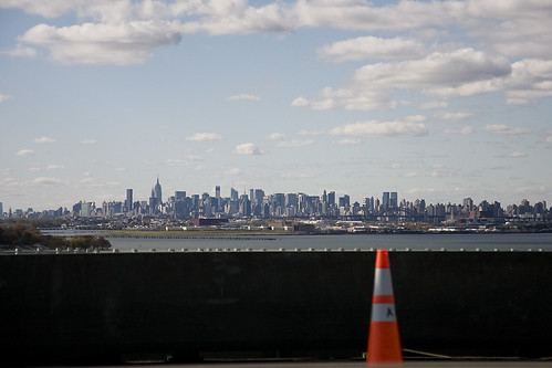Skyline from the Whitestone bridge